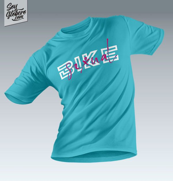 Camiseta de Soy Globero Modelo Bike Sexual