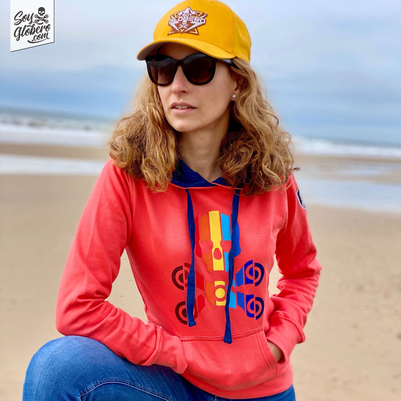 Sudadera Colours Coral Hombre / Mujer